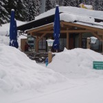 Waldtratte - Bergrestaurant - Winter